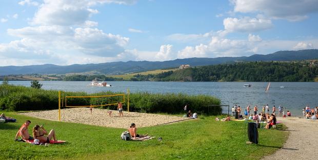 beach Volejbal Pieniny
