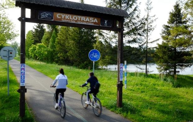 cyklotrasa Spišská belá