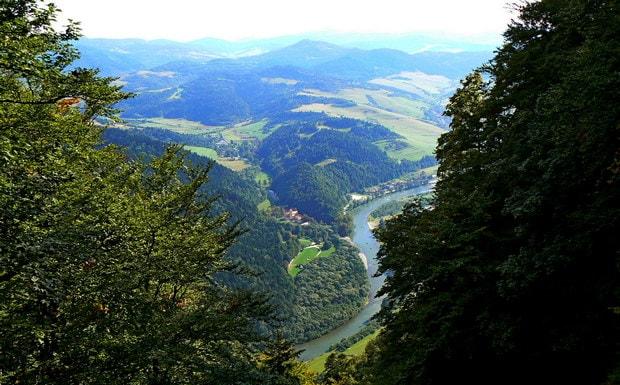 Dunajec kaňony